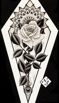 Rose/Mandala