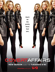 Michelle Ryan in Covert Affairs