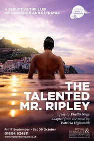 Michelle Ryan stars in The Talented Mr Ripley