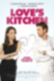 Michelle Ryan in Love's Kitchen