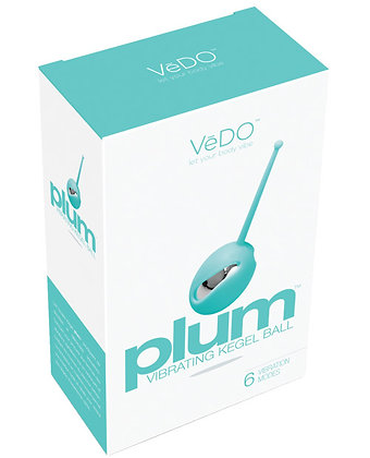 VeDO Plum Vibrating Kegel Ball