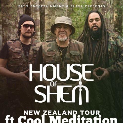 House of Shem Gig Poster