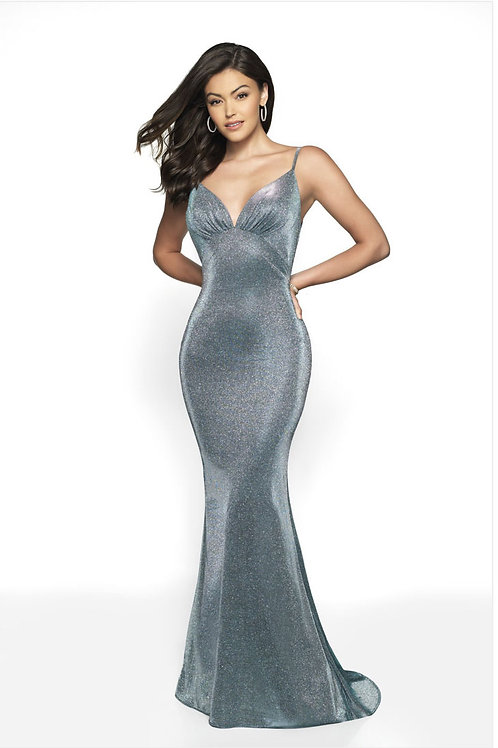 Metallic Life of the Party Gown