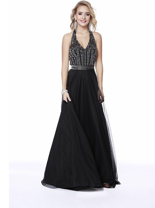 Bombshell Gown in Black