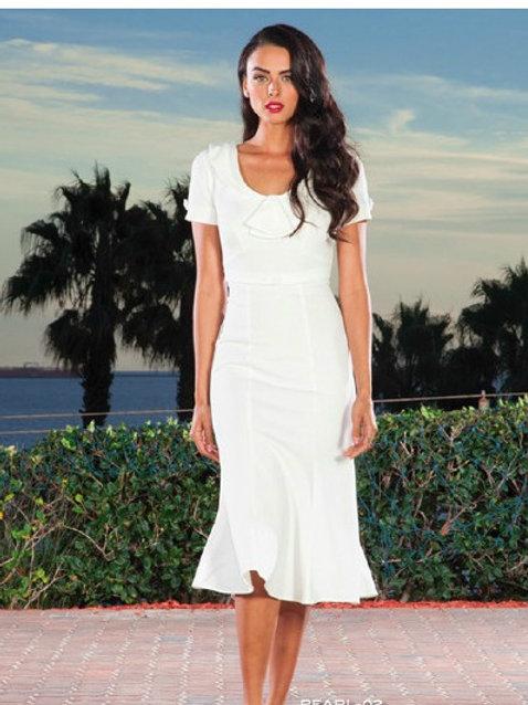 Ice White Dress