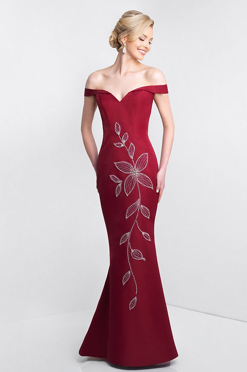 Red Flower Gown