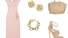 Chic in Pink and Gold