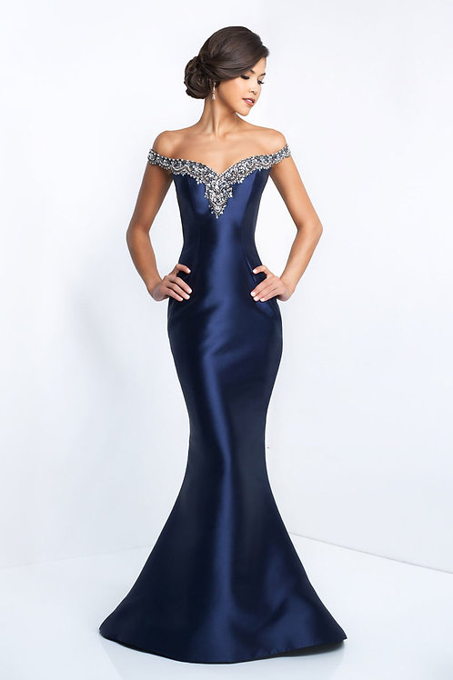 Blue Queen Gown