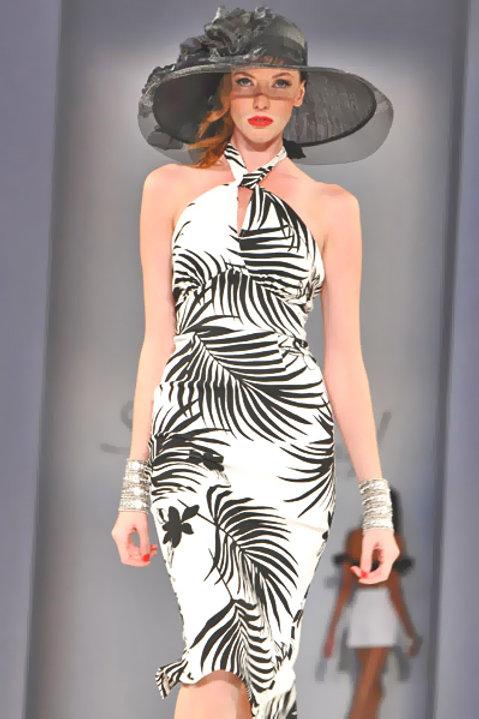Oasis Palm Shirley Dress