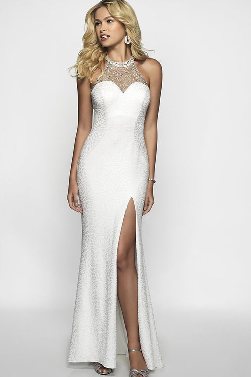 White Rose Gown