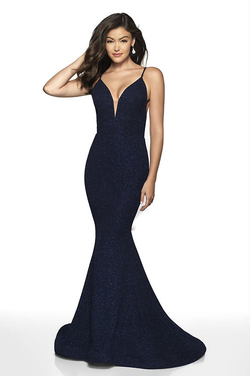 Navy Deep Love Gown