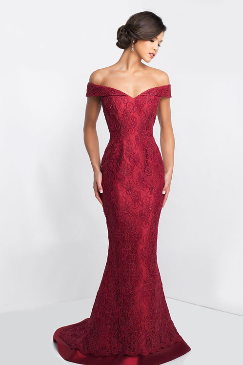 Red Romance Gown