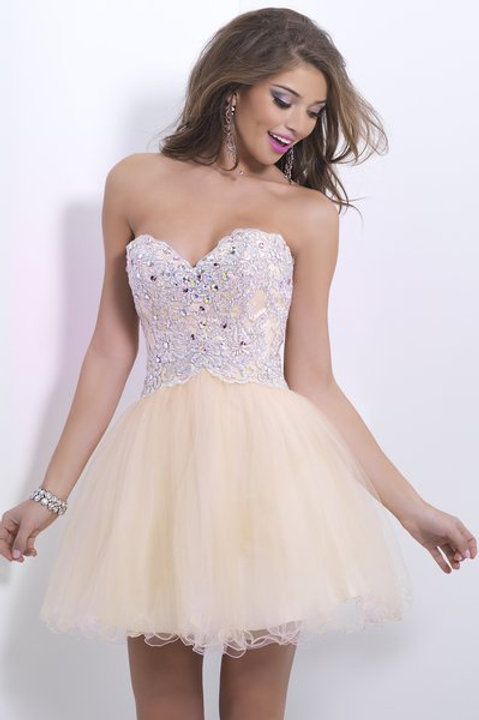 Gorgeous Strapless Short Dress