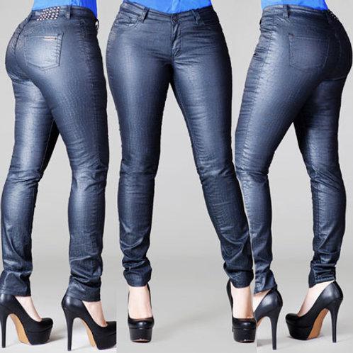 Jasmine Printed Skinny Jean