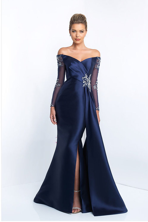 Navy Radiance Gown