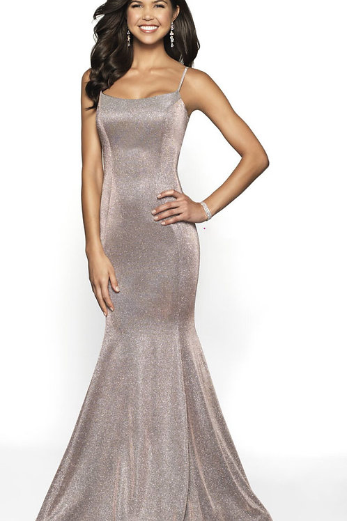 Rose Gold Shimmer Gown