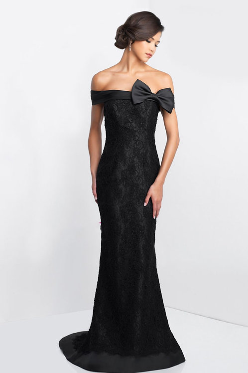 Black Bow Gown