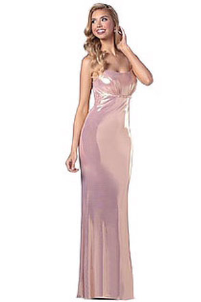 Pink Romance Shimmer Gown