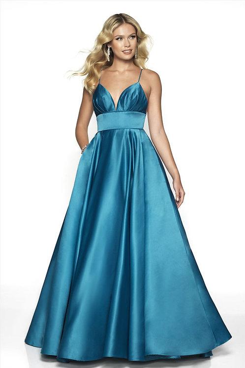 Blue Pretty Princess Gown