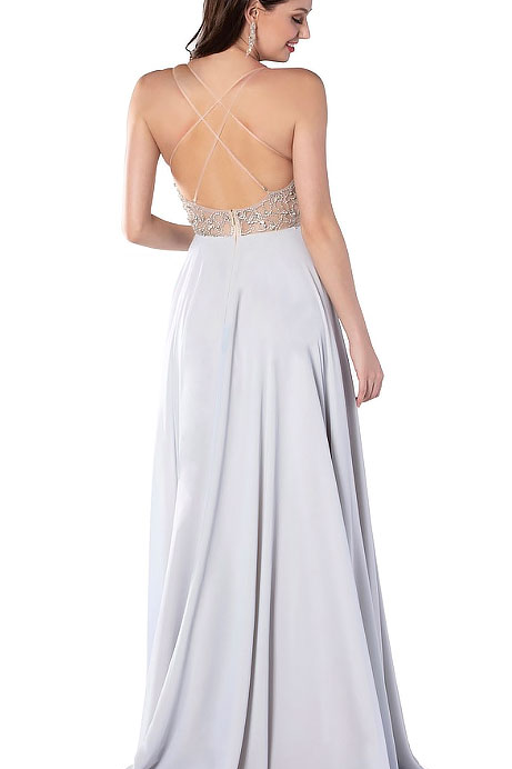 Pastel Favored Sparkle Gown