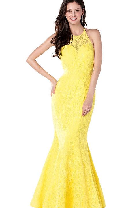 Sun Kiss Yellow Gown