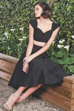 Twin Sensation Black Dress