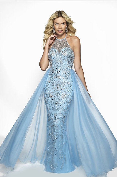 Baby Blue Glam Gown