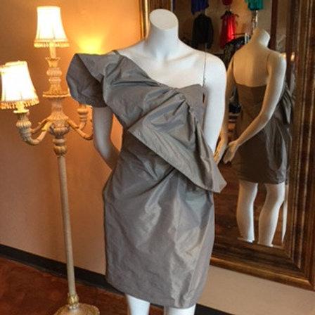 Grey Drape Dress