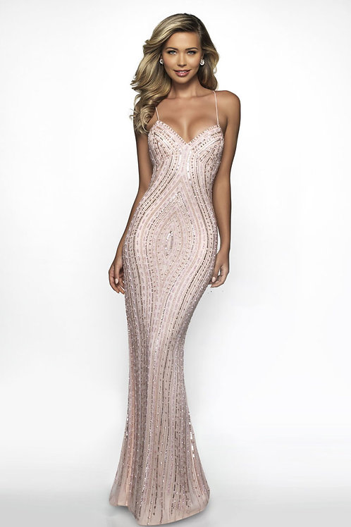 Pink Sexy Chic Gown