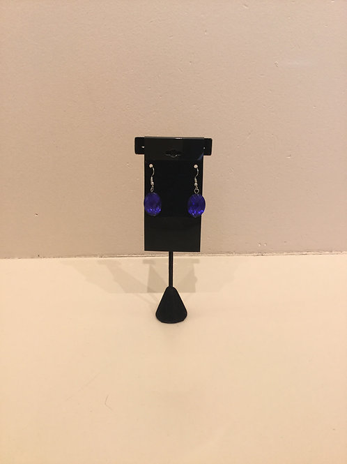 Blue Jewel Earrings