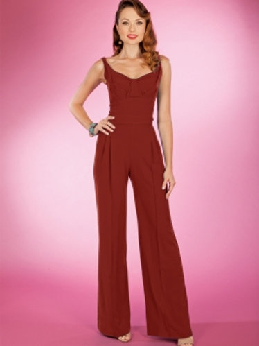 Red Hot Pant Suit