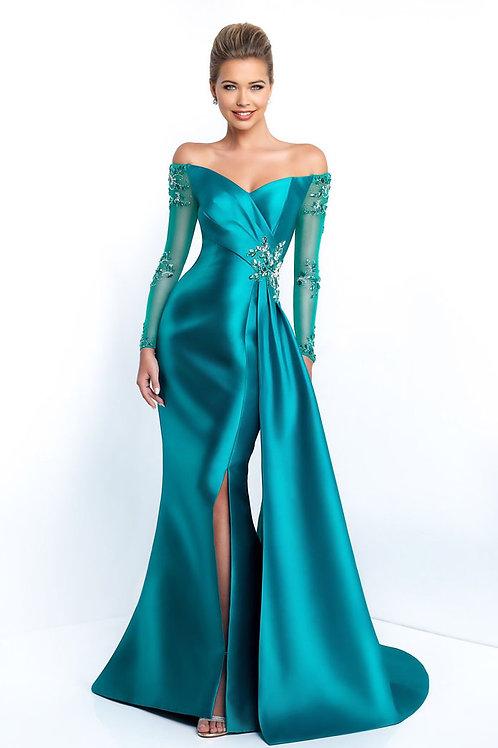 Aqua Radiance Gown