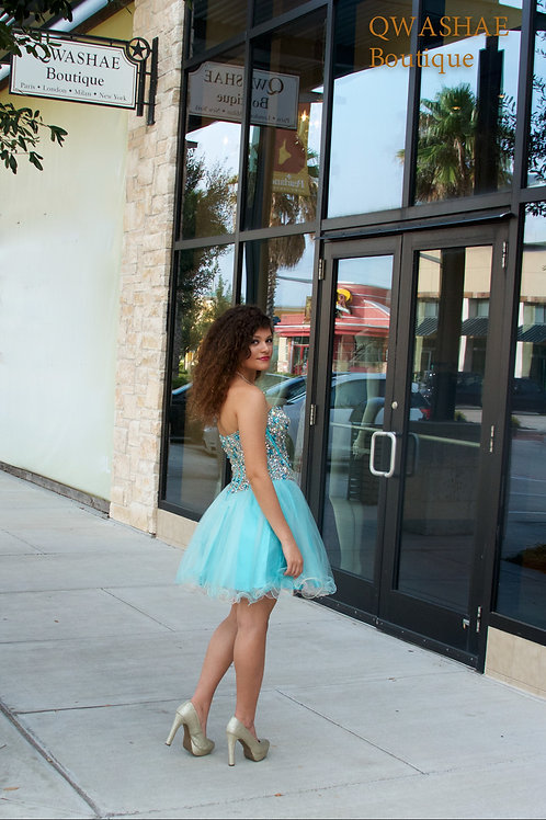 Blue Cupcake Dress