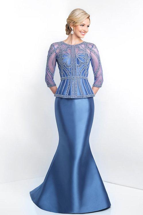 Blue Elegance Gown