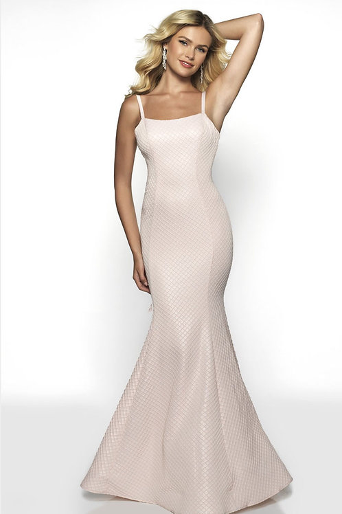 Pink Sophisticated Mermaid Gown