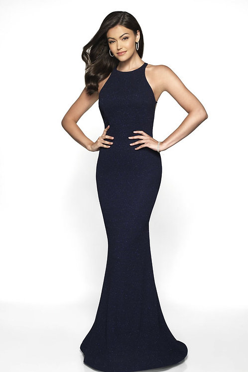 Navy Elegant Gown