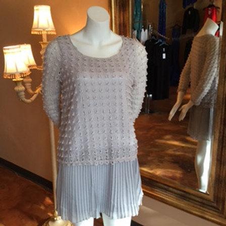 Grey Pettycoat Dress