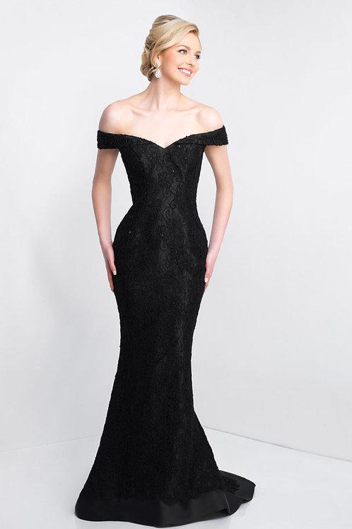 Black Romance Gown