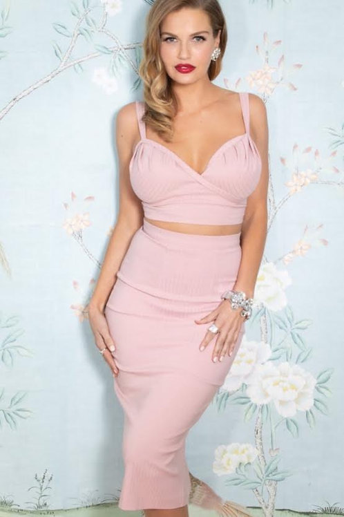 Pink Kisses Two-Piece Dress