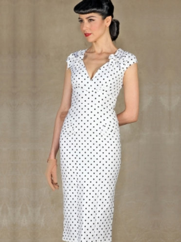 Dot Fitted Dress