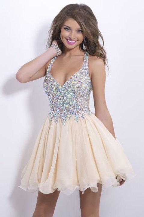Dazzling Short Cocktail Dress