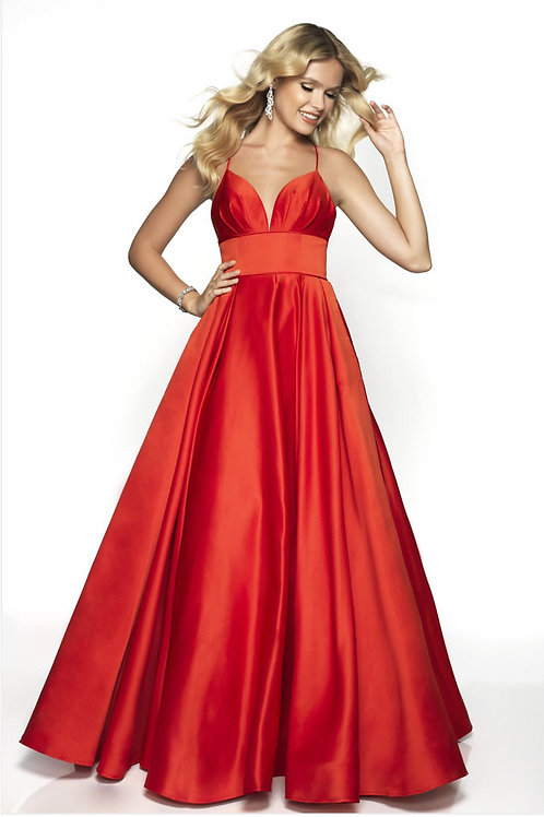 Red Pretty Princess Gown