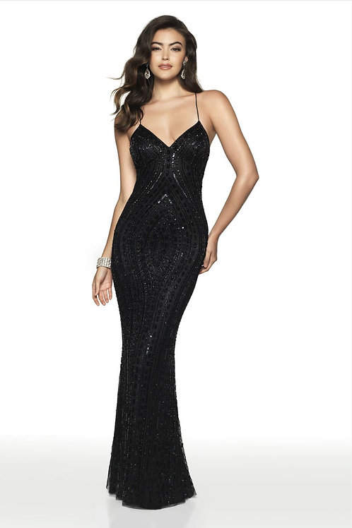 Black Sexy Chic Gown