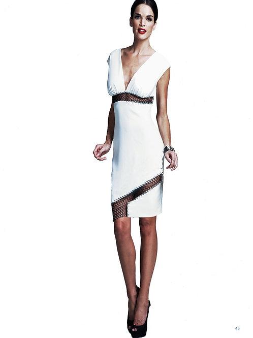 Sheer White Dress