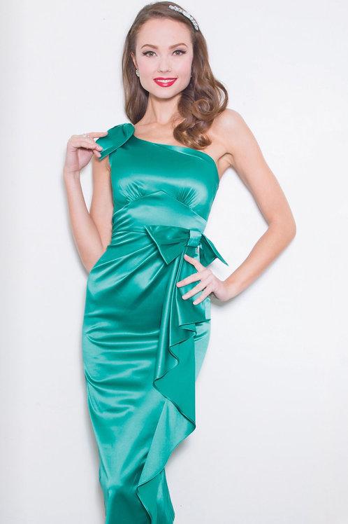 Satin Seafoam Dress