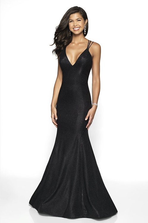 Black Star Gown