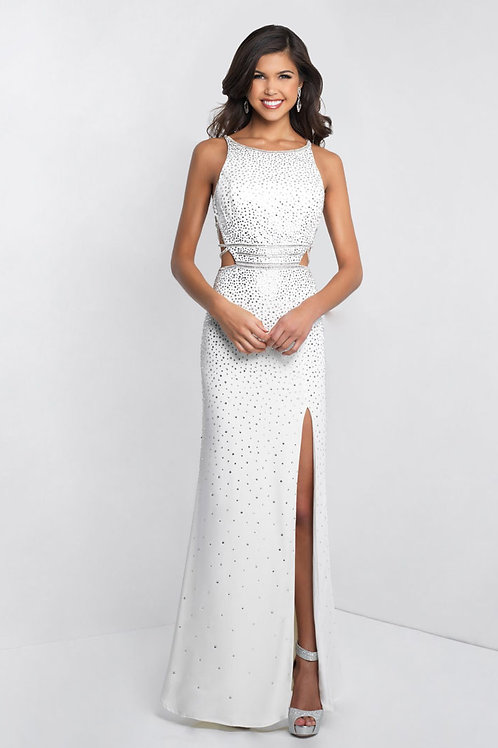 White Sexy Sparkle Gown