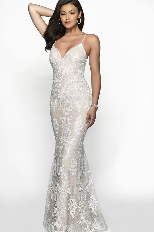 White Lace Dream Gown