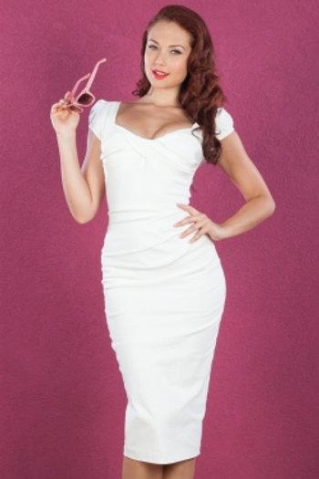Sexy Twist Dress White