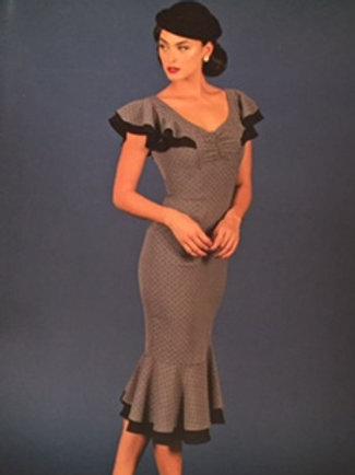 Ruffled Sleeves Dress
